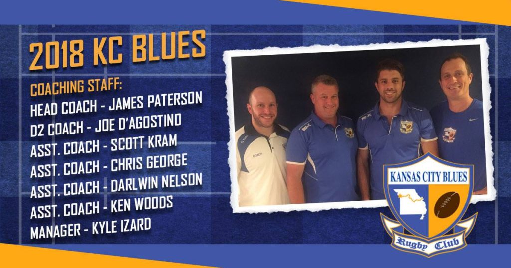 KC Blues 2018 Coaching Staff