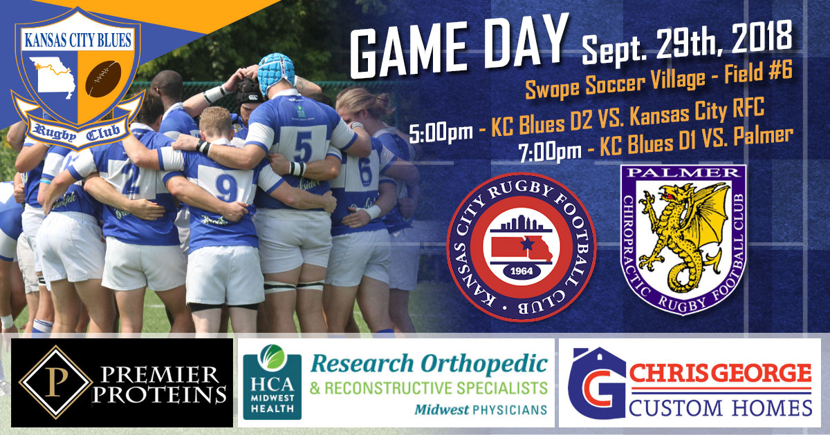 Kansas City Blues RFC vs KCRFC and Palmer