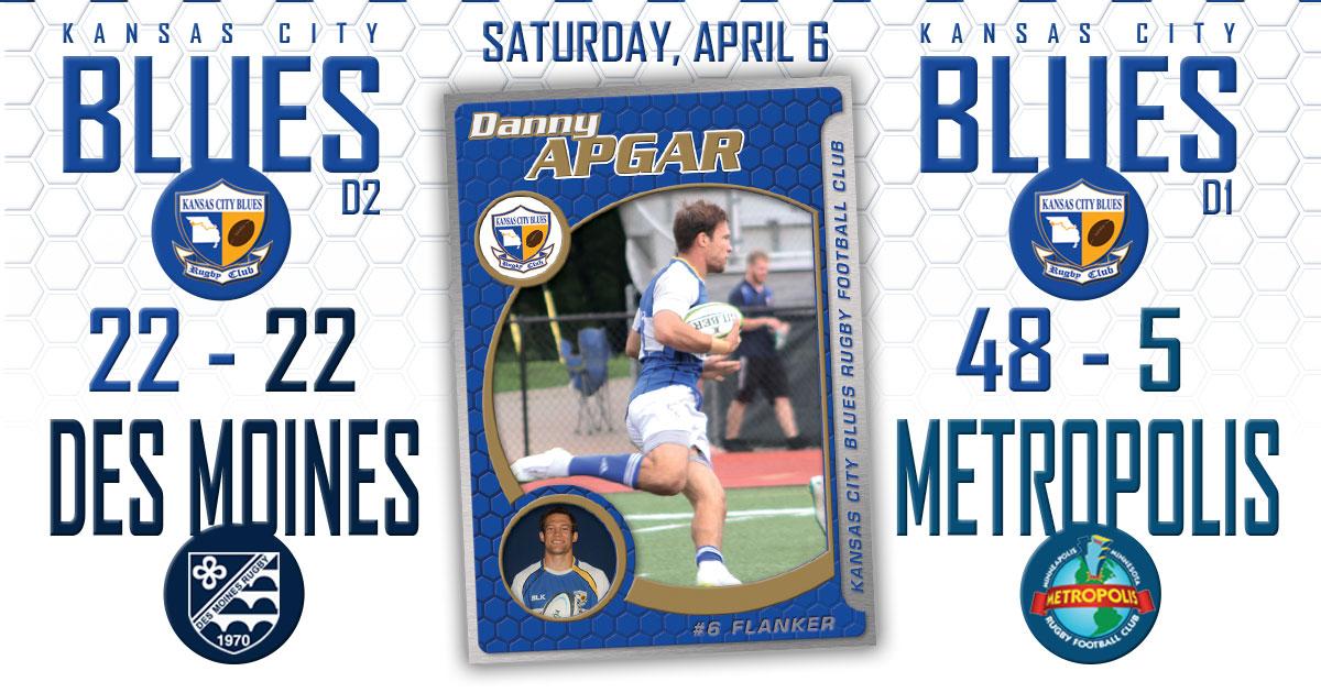Results: Kansas City Blues vs Des Moines RFC/Metropolis