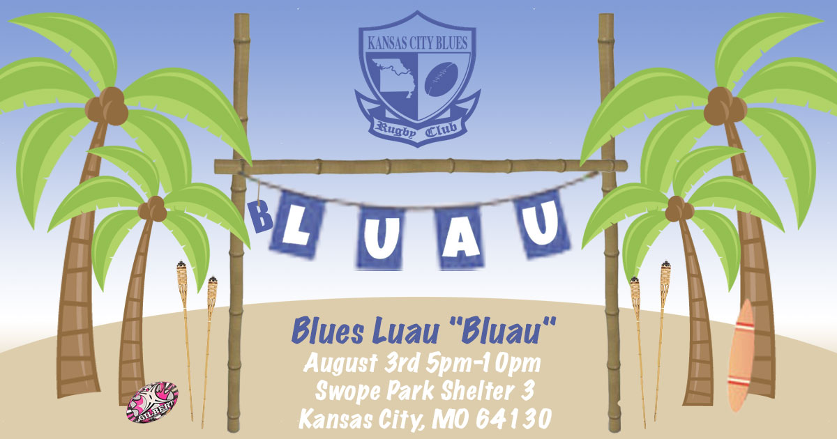 "KC Blues ""B'luau"""
